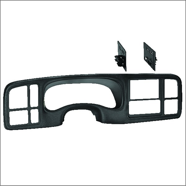 Coming in Early December, Textured to Match Double DIN Dash Kit for Select General Motors' Trucks and SUVs
