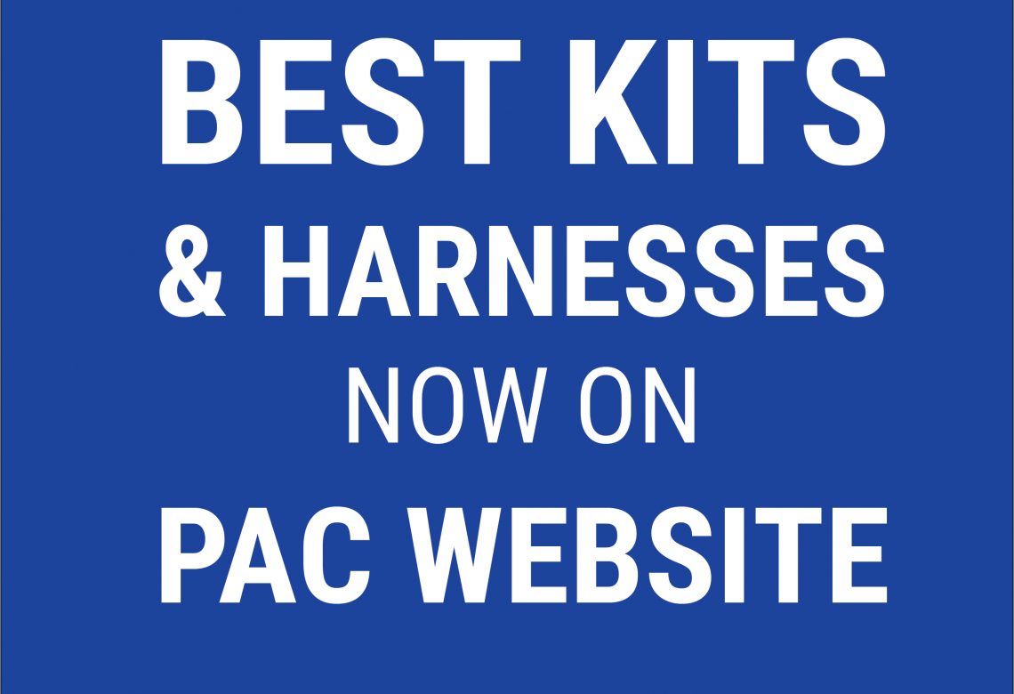 All Best Kits & Harnesses now on the PAC website