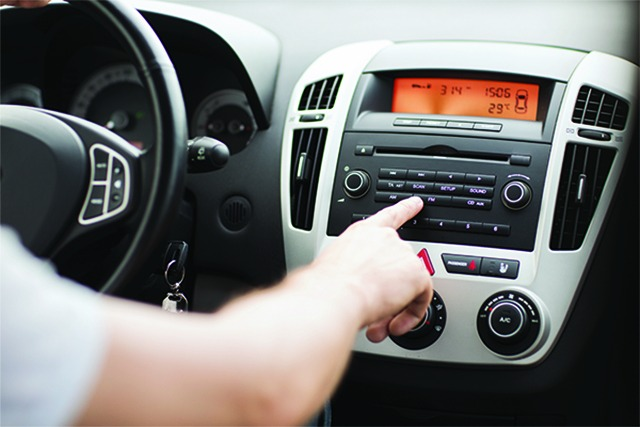 Change Your Radio, Not Your Features